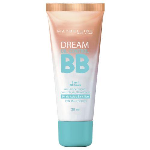 BB Cream Maybelline Dream Oil Control Escuro FPS 15 30ml