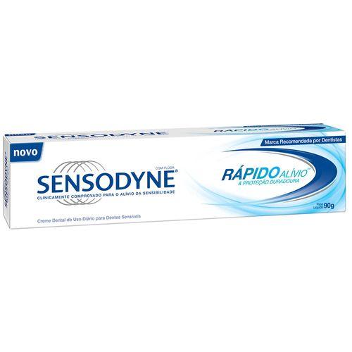 Creme Dental Sensodyne Rápido Alívio 90g