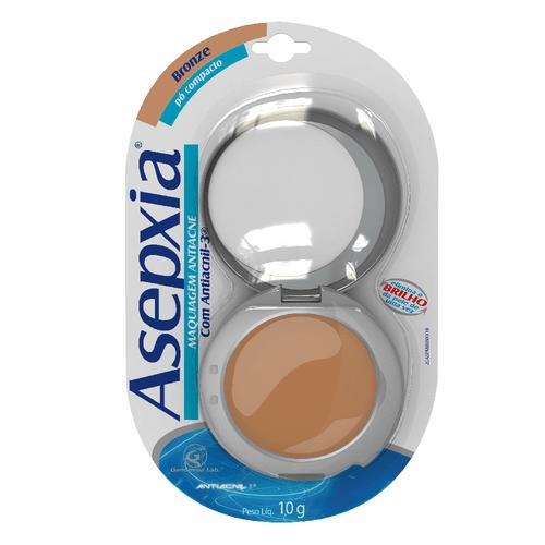 Maquiagem Antiacne em Pó Bronze Asepxia - 10g