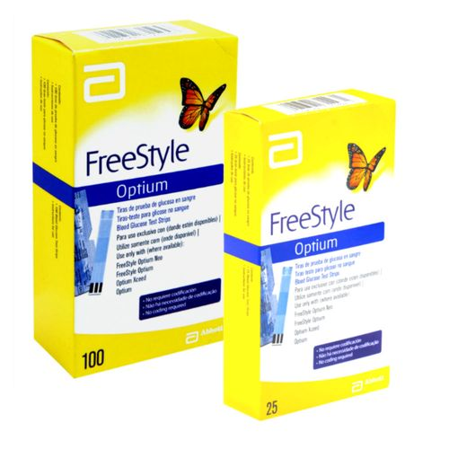 freestyle-optium-100-tiras-abbott-25-tiras-gratis-Drogaria-SP-500739