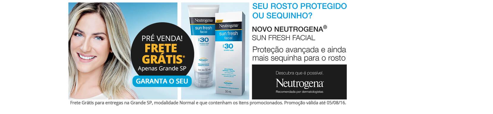 lancamento-protetor-solar-neutrogena-facial-frete-gratis