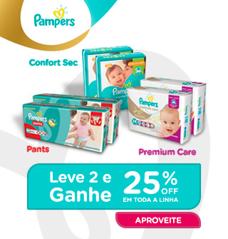 Pampers 25 OFF