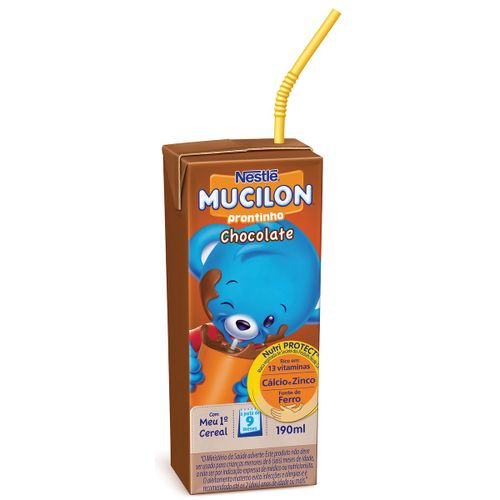 Bebida Láctea Nestlé Mucilon Prontinho Chocolate 190ml