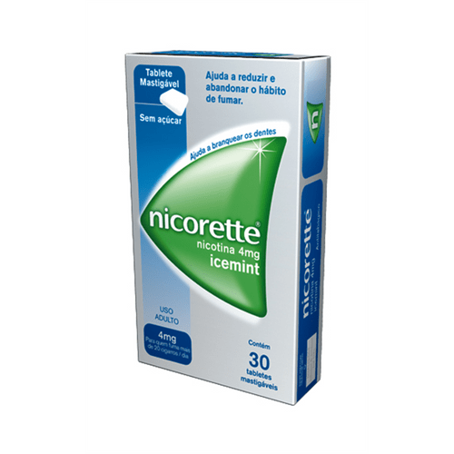 Nicorette-Ice-Mint-4mg-30-Gomas-Drogaria-SP-152030