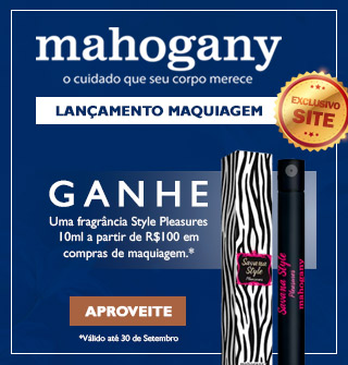 Mahogany Maquiagem
