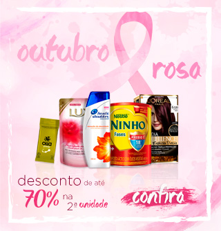 OUTUBRO ROSA campanha do mês