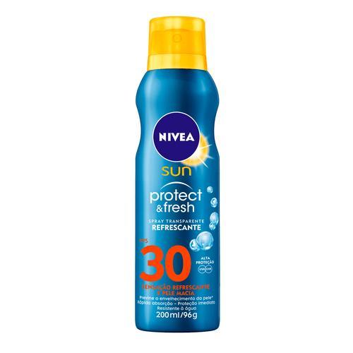 Protetor Solar Nivea Sun Protect & Fresh Fps 30 200ml