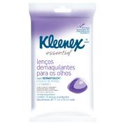 Lenços Demaquilantes para os Olhos Kleenex Essential 15 unidades