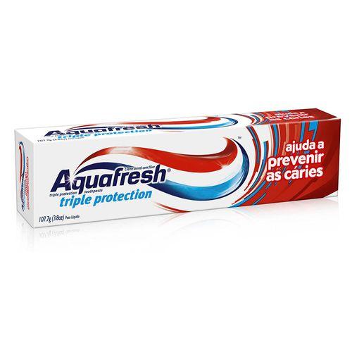Creme-Dental-Aquafresh-Triple-Protection-107g