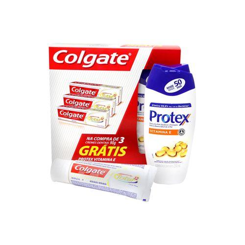 Creme Dental Colgate Total 12 Clean Mint C 3 Sabonete Líquido Protex