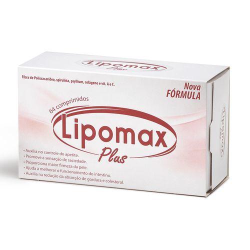 Lipomax Plus Divcom Nordeste 64 comprimidos