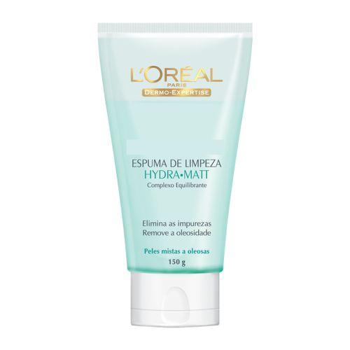 Espuma De Limpeza Dermo Expertise Hydra-Matt L'Oréal 150g