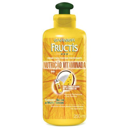 Creme para Pentear Fructis Nutrição Vitaminada 250ml