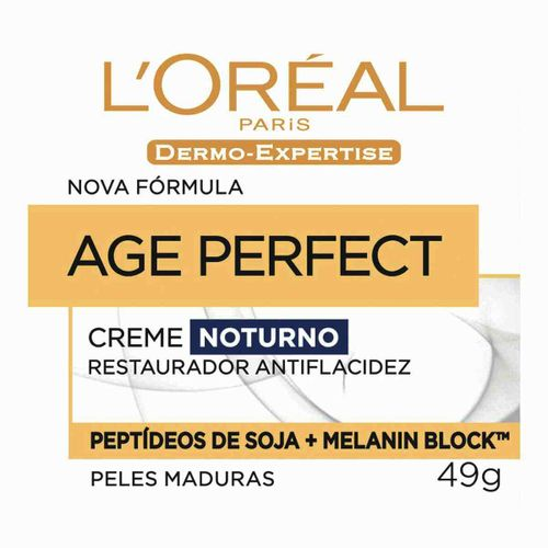 Dermo Expertise Age Perfect Pró Calcio Noturno 49g