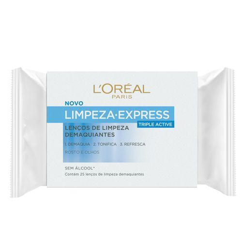 Lenço Demaquilante Loréal Limpeza Express