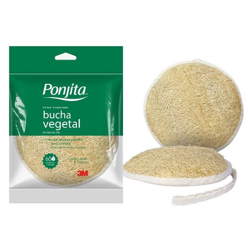 Esponja de Banho Ponjita Naturals Bucha Vegetal