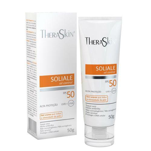 Protetor-Solar-Theraskin-Soliale-Gel-Creme-FPS50-50g-546437