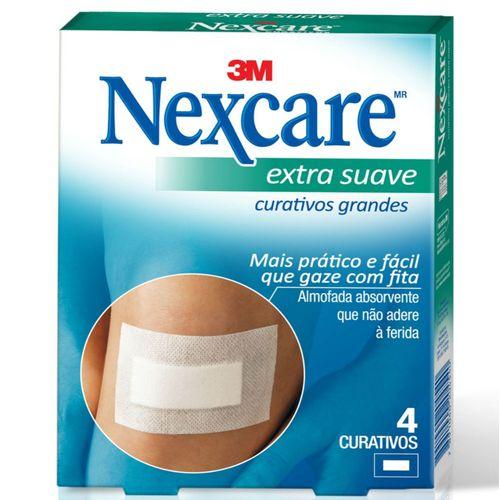 curativo-nexcare-3m-extra-suave-4-unidades-Drogaria-SP-518417