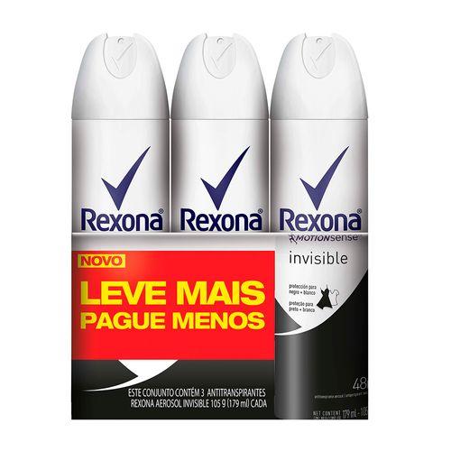 Kit-Desodorante-Aerosol-Rexona-Invisible-Feminino-105g-3-Unidades-Drogaria-SP-570389