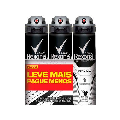 Kit-Desodorante-Aerosol-Rexona-Invisible-Masculino-90g-3-Unidades-Drogaria-SP-570362