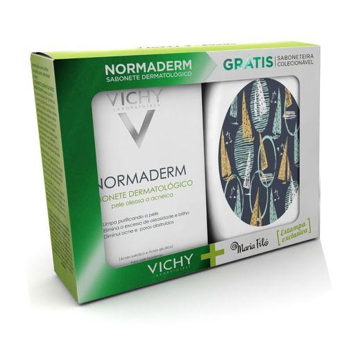 Kit-Vichy-Sabonete-Normaderm-80g-Gratis-Saboneteira-Drogaria-SP-563730