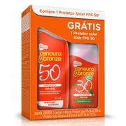 Kit-Protetor-Solar-Cenoura-Bronze-FPS-50-200ml-Protetor-Solar-Kids-FPS-30-110ml-Drogaria-SP-509671