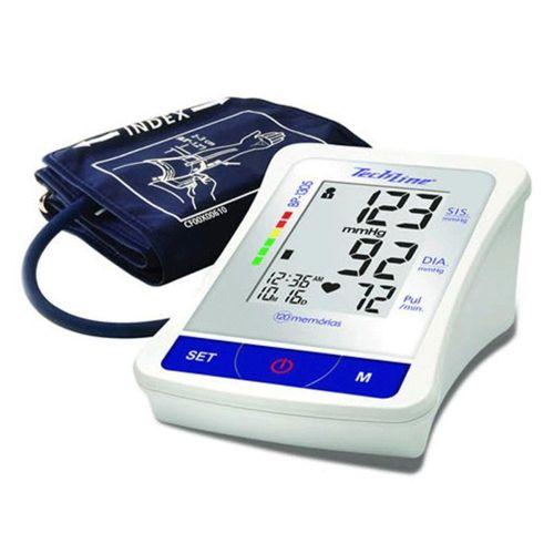 93b6b1a5a Medidor de Pressão Arterial Techline BP 1305 Digital de Braço ...