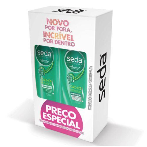 Kit-Shampoo---Condicionador-Seda-Cachos-Definidos-325ml