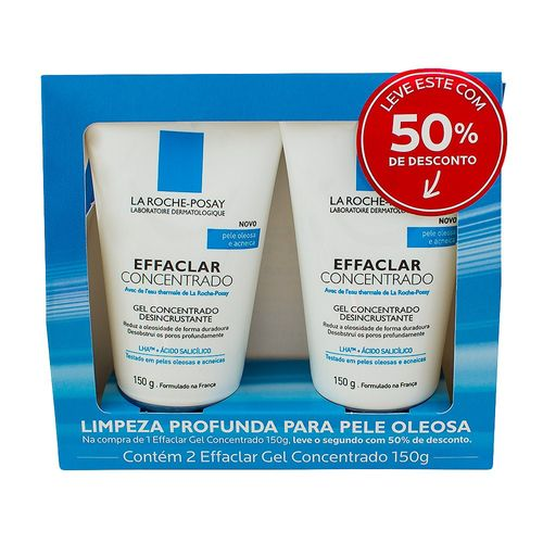 kit-limpeza-facial-la-roche-posay-effaclar-gel-concentrado-150g-2-unidades-Drogaria-SP-526363
