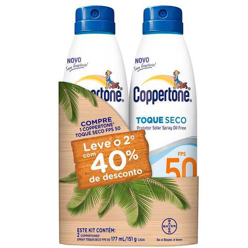 Kit-Protetor-Solar-Coppertone-Toque-Seco-FPS-50-177ml-2-Unidades--Drogaria-SP-584223