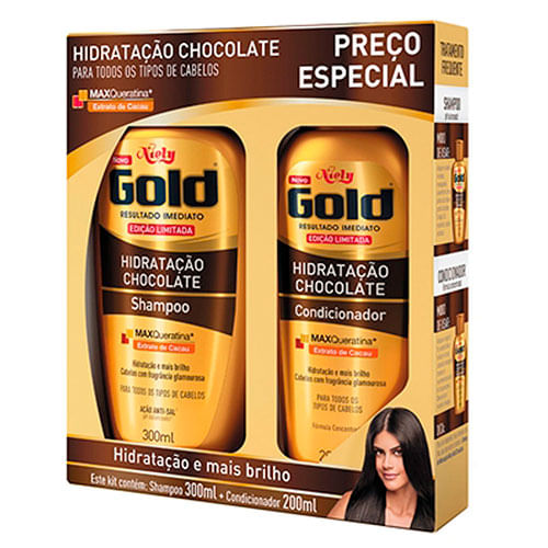 Kit-Niely-Gold-Hidratacao-Chocolate-Shampoo-300ml-Condicionador-200ml-Drogaria-SP-587060