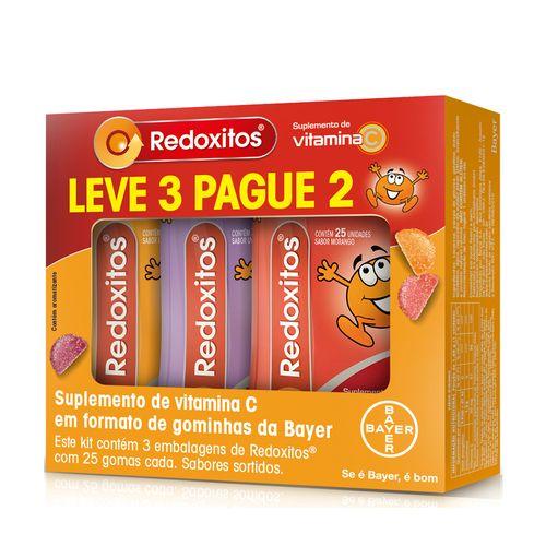 Kit-Redoxitos-25-Gomas-Mastigaveis-3-Unidades-Sabor-Sortido-Drogaria-SP-614459