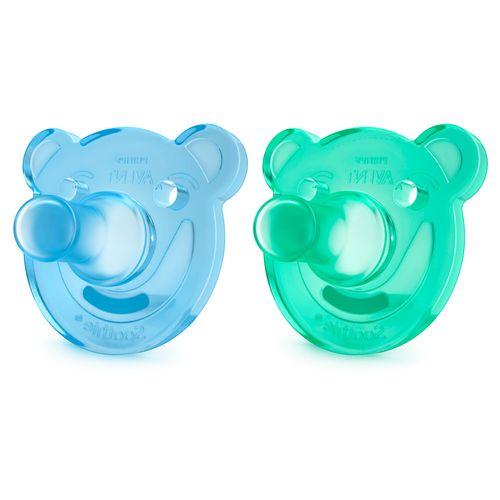 Kit-Chupeta-Soothie-Avent-Meninos-Azul-e-Verde-0-3-Meses-2-Unidades-Drogaria-SP-613576