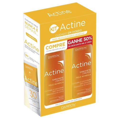 Kit-Sabonete-Liquido-Facial-Actine-240ml-2-Unidades-Drogaria-SP-625990