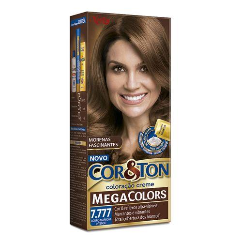 Mini-Kit-Cor-e-Ton-Mega-Color-7-777-Marrom-Caramelo-Drogaria-SP-601373