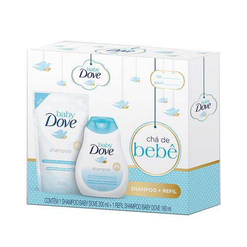 Kit-Dove-Baby-Hidratacao-Enriquecida-Shampoo-200ml-Refil-180ml-Drogaria-SP-635120
