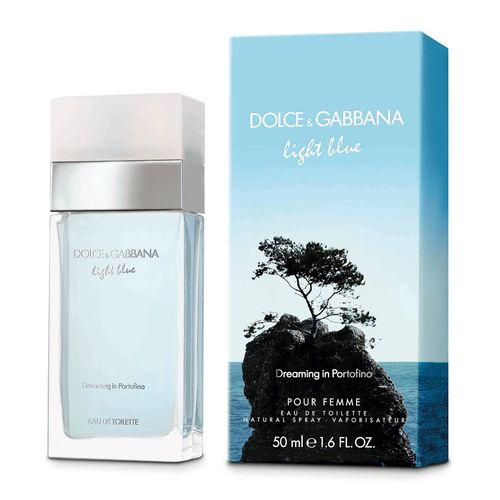 6c7d51ab68ccd Dolce Gabbana Light Blue Dreaming In Portofino Eau De Toilette Feminino