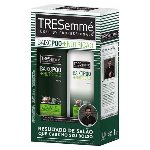 Kit-Tresemme-Baixo-Poo-Shampoo-400ml-Condicionador-200ml-Drogaria-SP-628530