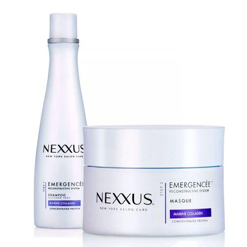Kit-Nexxus-Shampoo-Emergencee-250ml---Mascara-de-Tratamento-Emergencee-190g-Drogaria-SP-9031661