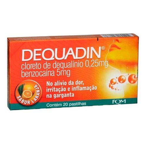 dequadin-farmoquimica-laranja-20-pastilhas-Drogaria-SP-59650