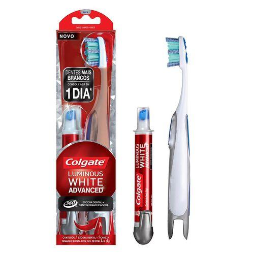 Escova-Dental-Colgate-360-Luminous-White-Advanced---Caneta-Branqueadora-Drogaria-SP-627682