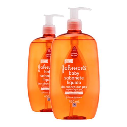 Kit-2-Sabonete-Liquido-Johnsons-Baby-da-Cabeca-aos-Pes-400ml-Drogaria-SP-9341466