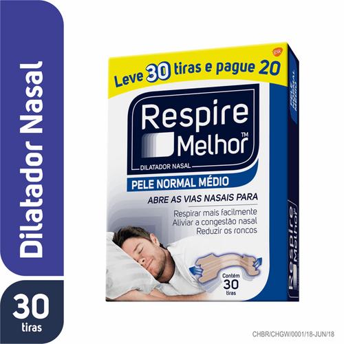 Respire-Melhor-Pele-Normal-Tamanho-Medio-30-Tiras-Drogaria-SP-324990