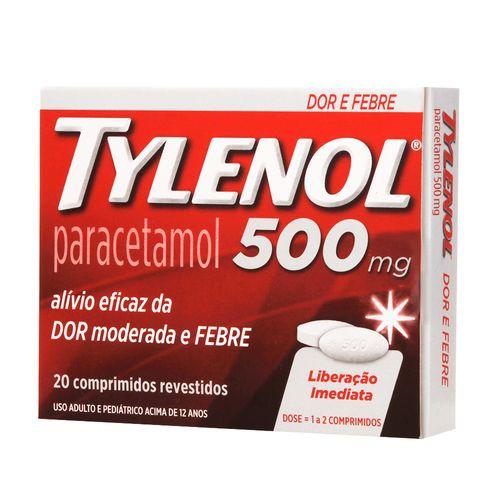Tylenol-500mg-20-Comprimidos-Drogaria-SP-350192
