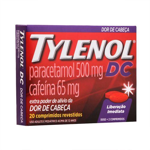 Tylenol-Dc-500Mg-20-Comprimidos-Drogaria-SP-4413
