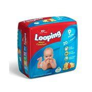 Fralda-Descartavel-Looping-Maxi-Confort-Pratica-P-20-Unidades-Drogaria-SP-641901