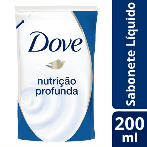 Sabonete Líquido Dove Nutrição Profunda Refil 220ml  - 595586_1