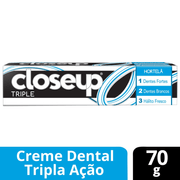 Creme Dental Close Up Triple Hortelã 70g - 611131_1