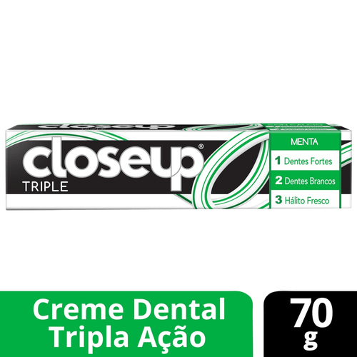 Creme Dental Close Up Triple Menta 70g - 611140_1