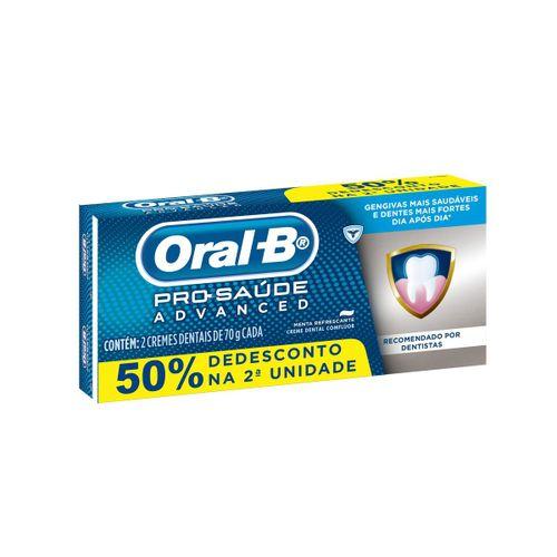 Kit-Creme-Dental-Oral-B-Pro-Saude-Advanced-70g-2-Unidades-Drogaria-SP-627224